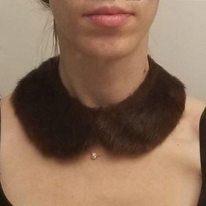 VTG Mink Fur Necklace